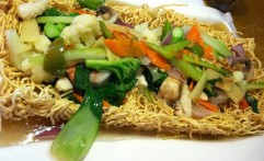 Crispy Fried Egg Noodle