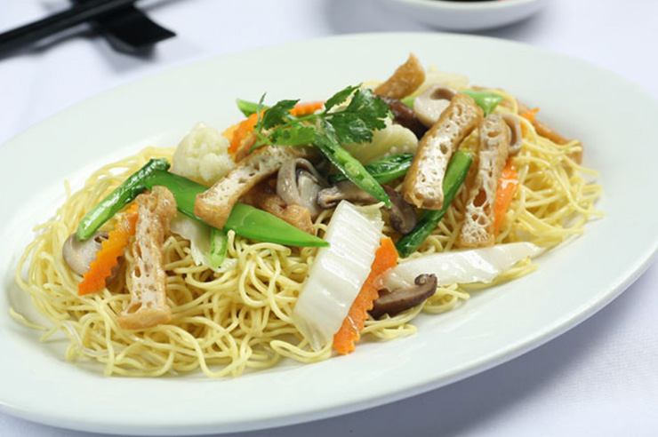 Fried Soft Egg Noodle